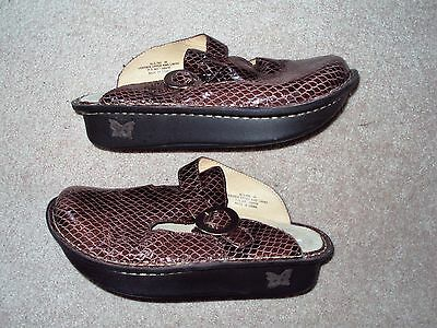 Women's Alegria Slip On Clogs Size 36 In Used Condition
