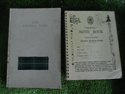 The Gilwell Book 1956 & Gilwell Note Book 1957