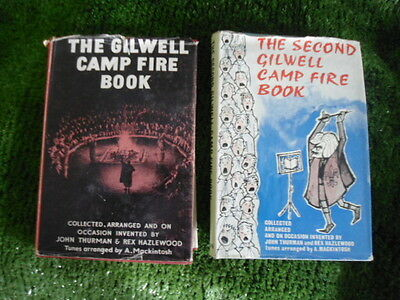 The Gilwell Camp Fire Books - 1 & 2 - Songs & Yells