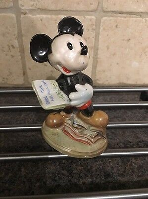 Rare Beswick Mickey Mouse With Gold Back stamp
