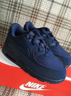 NEW GENUINE Baby/ Toddler Nike Air Max 90 Mesh Size 8.5 or 2-3 years