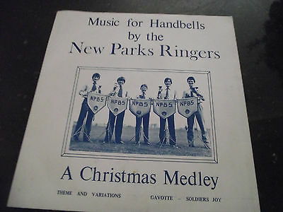 Mint- The New Park Ringers Music For Handbells Rare Uk 1981 Leicester 7 Inch 45