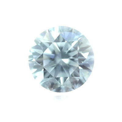 Blue Diamond - 0.05ct Natural Loose Very Light Blue Color Diamond GIA Round VVS1