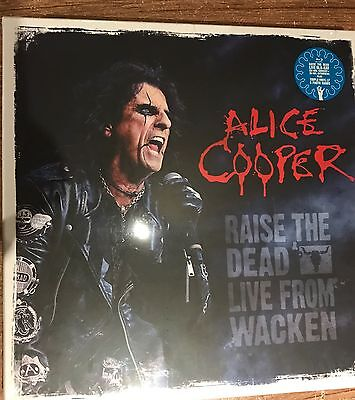 Alice Cooper - Raise The Dead Lp and Blu Ray box set - new and sealed