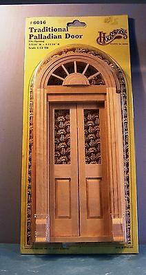 Traditional Palladian Split Door - Houseworks (6016) - 12Th Scale - Doll House