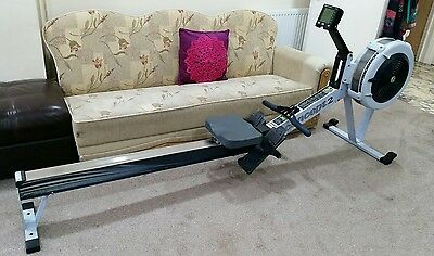 concept 2 rowing machine model d rower with pm3 monitor
