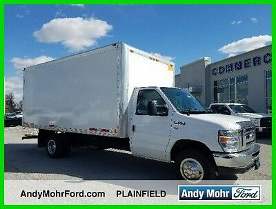 2015 Ford E-Series Van  Used 15 Ford E350 Box Truck Fleet 5.4L V8 Auto RWD White Low Miles Reserve