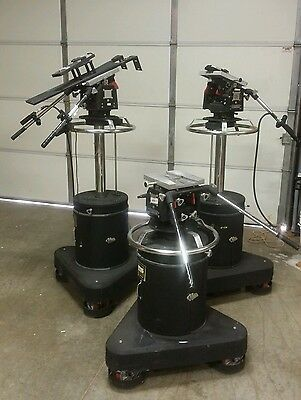 ITE Pedestal TRIPOD Dolly With H-2 ITE Head - Heavy Duty Professional