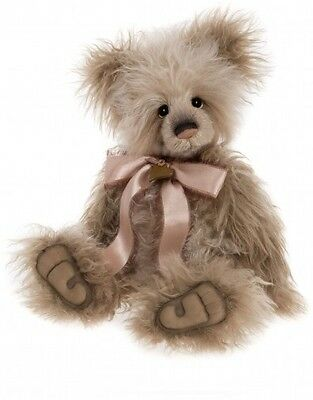 Charlie Bears Hepburn Isabelle Collection with free Charlie Bear Keyring