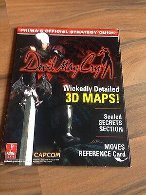 Prima Devil May Cry Strategy Guide PS2