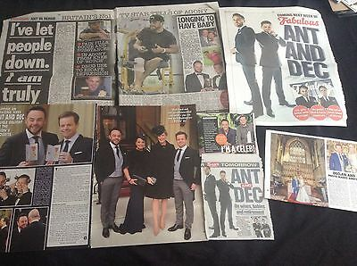 Anthony Mcpartlin & Declan Donnelly (Ant & Dec) - Clippings/cuttings/articles