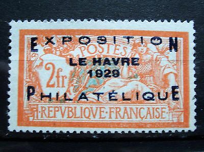 Timbre N° 257A Merson Expositon Du Havre Neuf Sans Charniere Ni Trace Signe