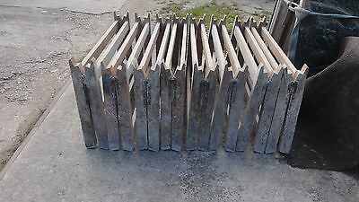 8 x Reclaimed Vintage Wooden Trestle Base Legs
