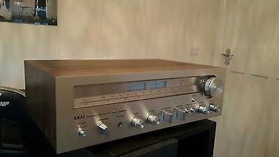 akai stereo receiver aa-1135 vintage amplifier tunner