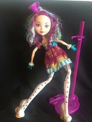 Ever After High Way Too Wonderland Madeline Hatter Maddie 17inch Doll Rare