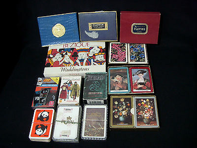 Job Lot Vintage Modern Playing Cards & Card Games
