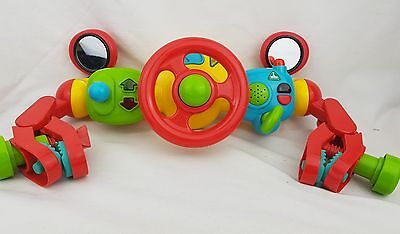 ELC Early Learning Centre Lights and Sounds Buggy  Steering Wheel Excellent Cond
