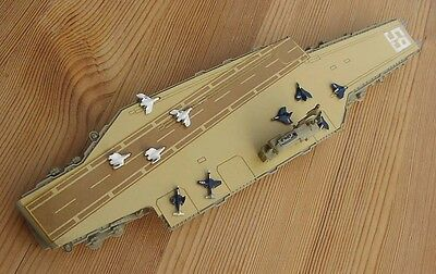 1/1250 Wiking CV 59 USS FORRESTAL 1956 carrier with 10 aircraft Vietnam Gulf war