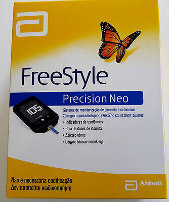 Freestyle Precision Neo Blood Glucose & Ketones Monitoring System + 10 Strips