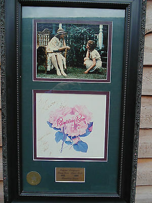 *RARE* Rambling Rose Film  Framed WaltDisney 1991 Signed laura Dene & Diane Ladd