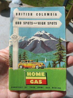 Nice Booklet Home Gas & Oil Vancouver  B.C. Canada