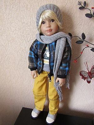 ** Beautiful Jakob Kidz n Cats doll by Sonja Hartmann 18""