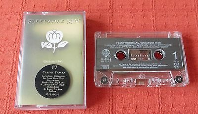 Fleetwood Mac - Uk Cassette Tape - Greatest Hits (Best Of) - Stickered Case