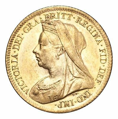 Great Britain Victoria Gold Coin 1900 Gold Half-Sovereign