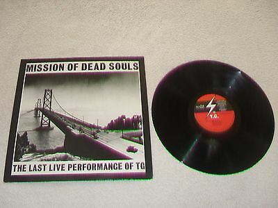 Throbbing Gristle Mission Of Dead Souls 1983 Uk Vinyl Lp Mute Rare Excellent