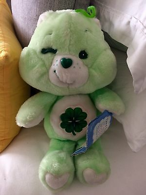 "MINT Good Luck Bear With Label 13"" (Kenner)"