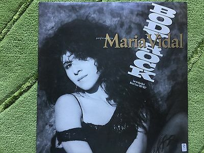 "Maria Vidal - Body Rock  12"" single EMI Records  12EA 189"