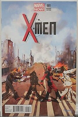 X-Men #1 First Issue Deadpool/Beatles/Zombie Variant Cover Marvel Rare Comic New