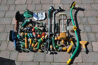Job Lot of garden Hose Fittings & Attachments - new & used - #L879