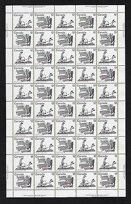 Canada Stamps -Full Pane of 50 -Inuit: Hunting #750-751 -MNH