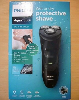 Philips AquaTouch AT899/06 Wet & Dry Fully Waterproof Shaver With Flexing Heads