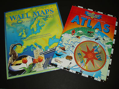 Wall Maps Europe The World Interactive Atlas