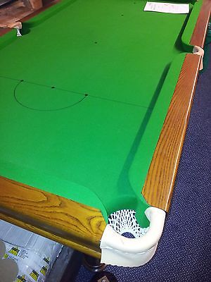 6ft Ash/Oak Slate Snooker Table