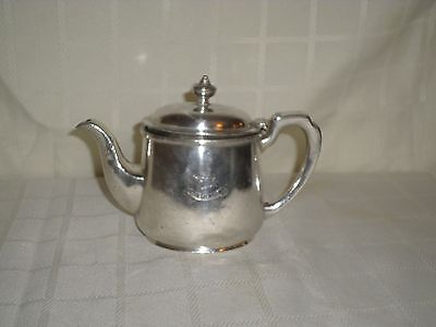 Red Star Line Antique Cruise Line Silver Plate Tea Pot  by Elkington Plate