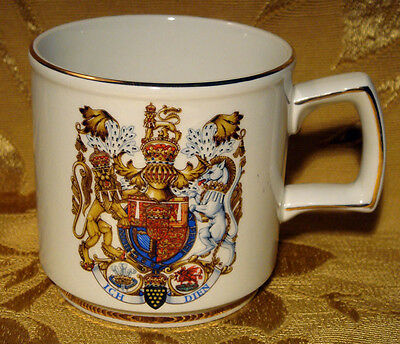 WOOD & SONS CUP ROYAL MARRIAGE LADY DIANA and PRINCE OF WALES