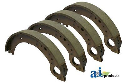 NCA2218B Set of 4 Tractor Brake Shoes for Ford 600 601 700 701 800 801 900