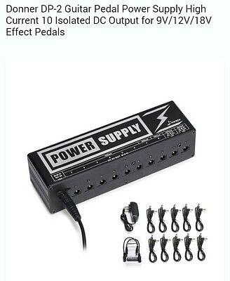 Donner DP-2 Pedal board power supply