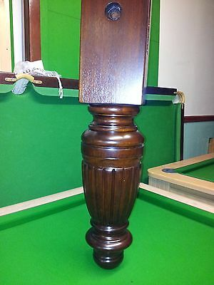 Beautiful 9ft Refurbished Slate Snooker Table