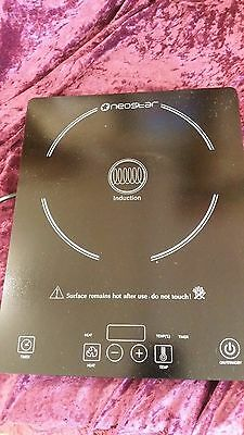 Single Portable 2kW Induction Cooker Hob. Neostar