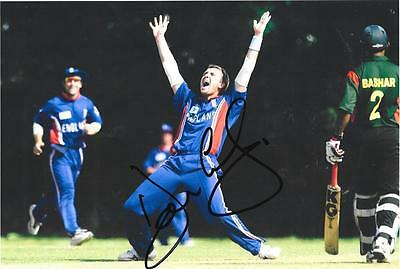 Dominic Cork  England Test & One Day Star Signed 8 X 10 Photo