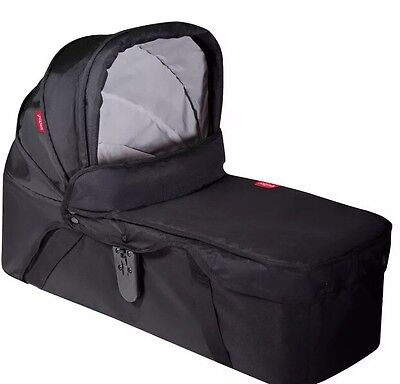 Phil and Teds Dot/Navigator Snug Carrycot in Black RRP-£139.99_ FREE POST