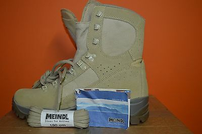 Genuine British Army isuue Meindl Desert FOX Combat Boots UK Size 7