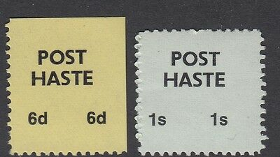 1971 STRIKE MAIL- Post Haste - 6d & 1/ - MNH