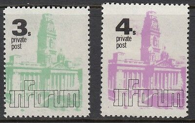 1971 STRIKE MAIL- Inforum 3/ & 4/ private post - MNH