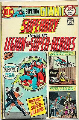 Superboy #208 (Apr 1975, DC Comics)