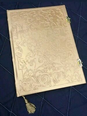 BRAND NEW Disney Beauty and the Beast gold journal diary notebook